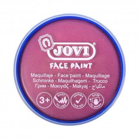 Maquillaje jovi face paint estuche 6 botes 8 ml rosa