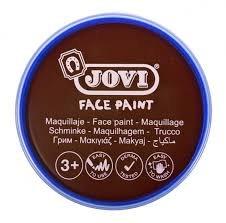 Maquillaje jovi face paint estuche 6 botes 8 ml marron