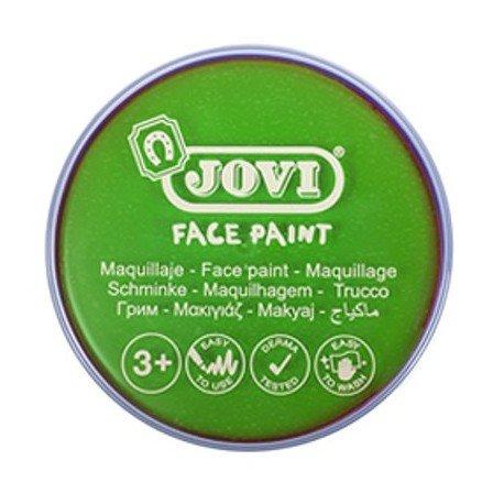 Maquillaje jovi face paint estuche 6 botes 8 ml verde