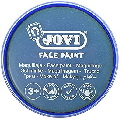Maquillaje jovi face paint estuche 6 botes 8 ml azul claro