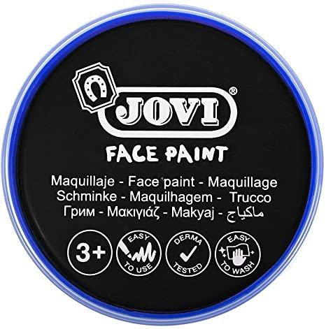 Maquillaje jovi face paint estuche 6 botes 8 ml negro