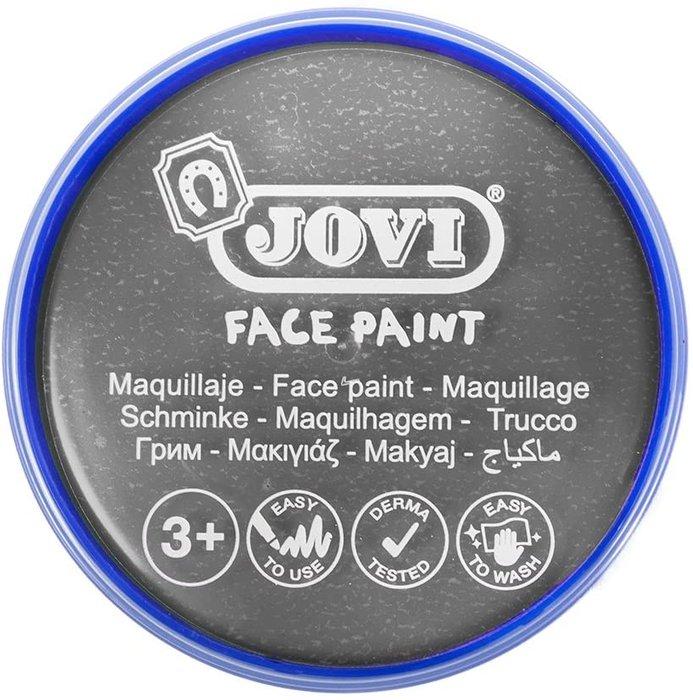 Maquillaje jovi face paint estuche 6 botes 8 ml plata