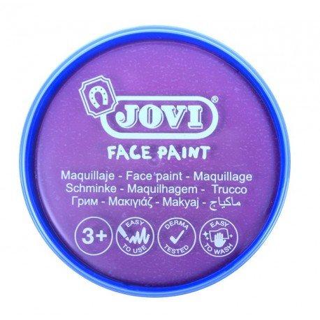 Maquillaje jovi face paint estuche 6 botes 8 ml violeta