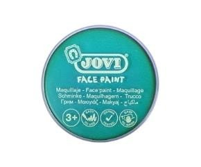 Maquillaje jovi face paint estuche 6 botes 8 ml turquesa