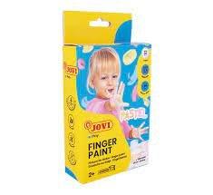 Pintura dedos jovi 35ml 6 colores pastel