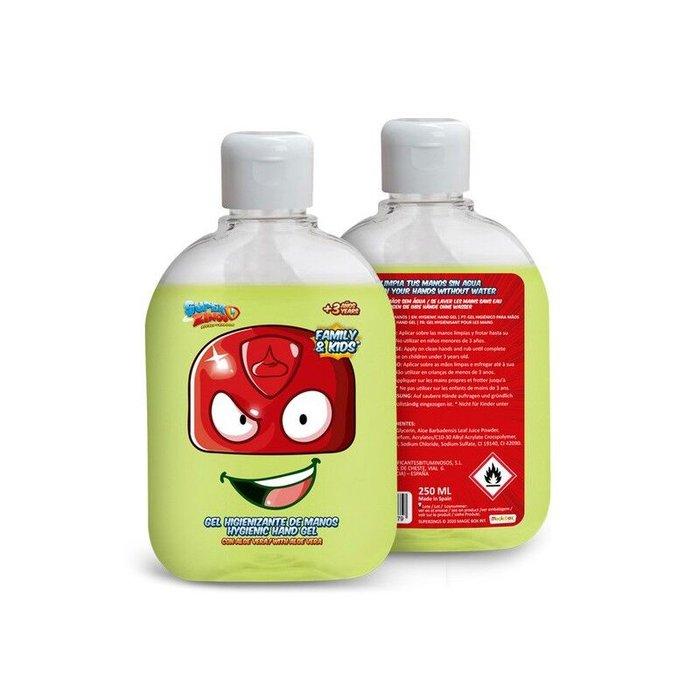Gel hidroalcoholico superzings