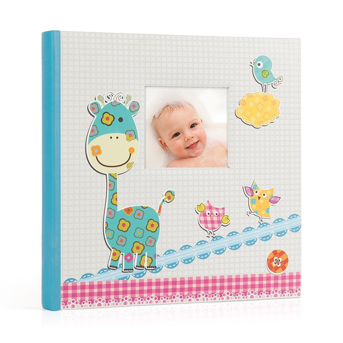 Album cartulina baby 60 paginas hoja crema 30x30