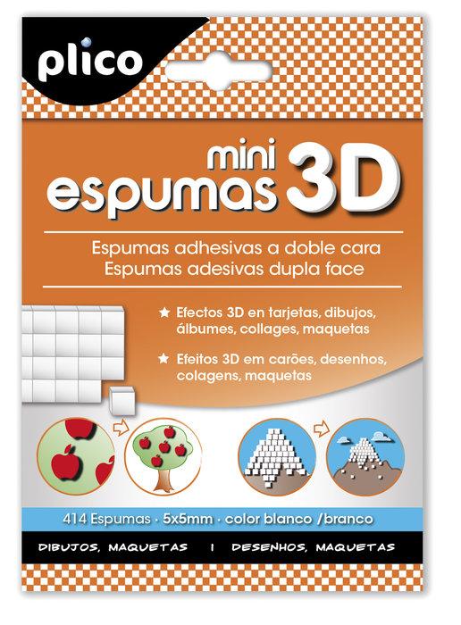 Mini espumas 3d adhesivas doble cara