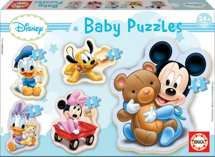 Puzzle educa baby mickey