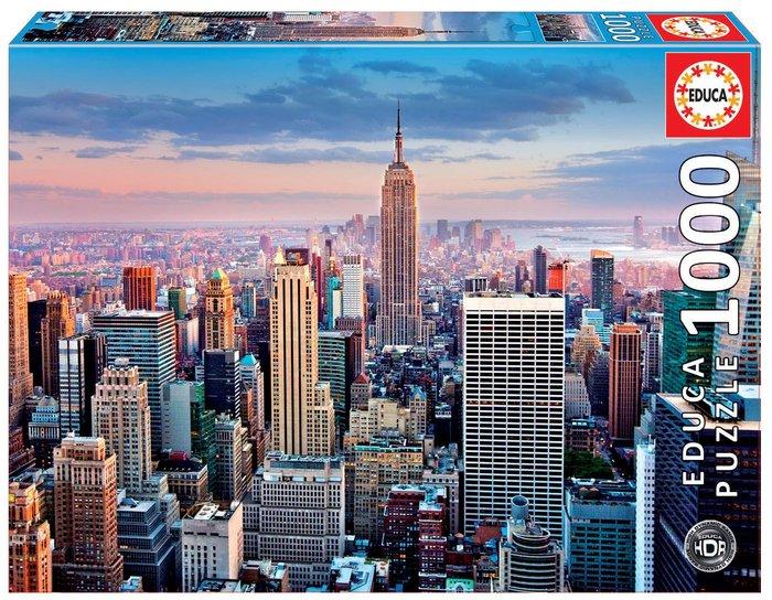 Puzzle educa 1000 piezas manhattan, nueva york
