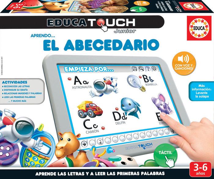 Juego educa touch junior aprendo... el abecedario