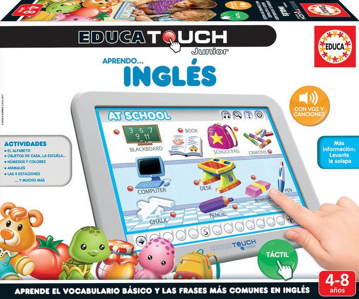 Juego educa touch junior aprendo... ingles