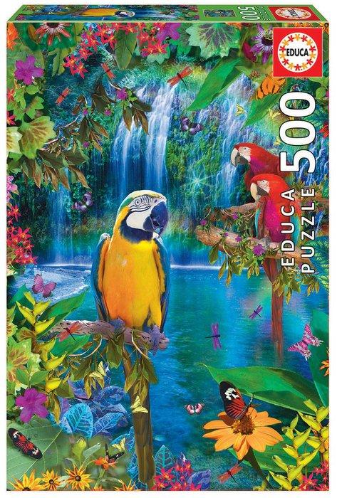 Puzzle educa 500 piezas paraiso tropical