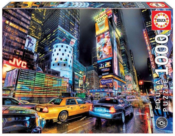 Puzzle educa 1000 piezas times square, nueva york