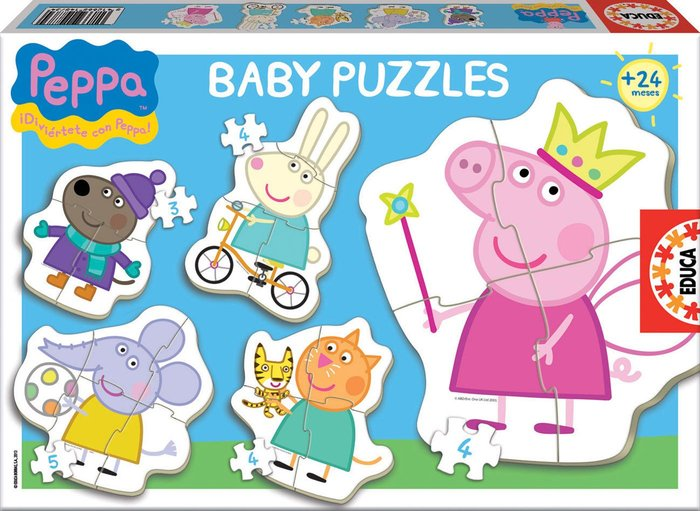 Puzzle educa baby peppa pig