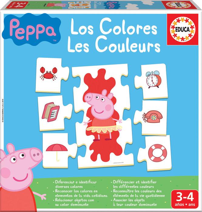 Juego aprendo los colores peppa pig