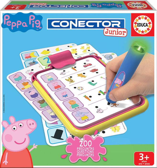 Juego conector junior peppa pig