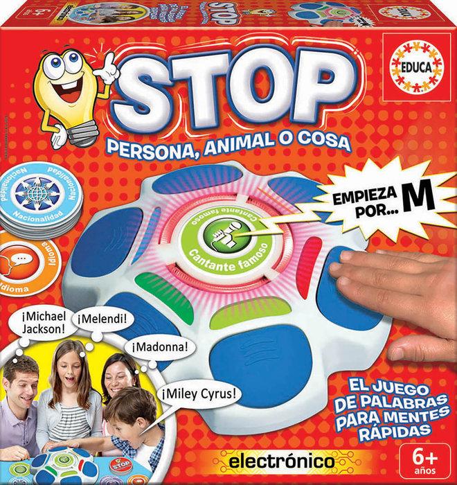 Juego stop persona animal o cosa