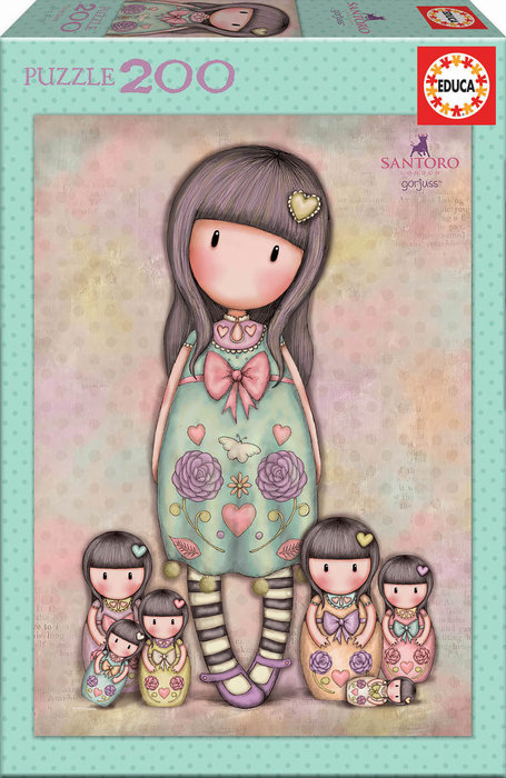 Puzzle 200 piezas seven sisters gorjuss