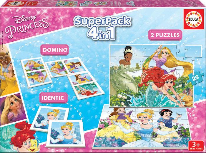 Juego educa superpack disney princesses