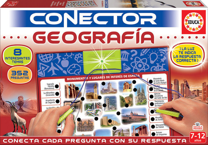 Juego conector geografia