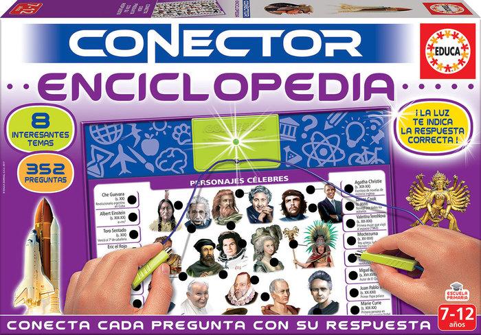 Juego conector enciclopedia
