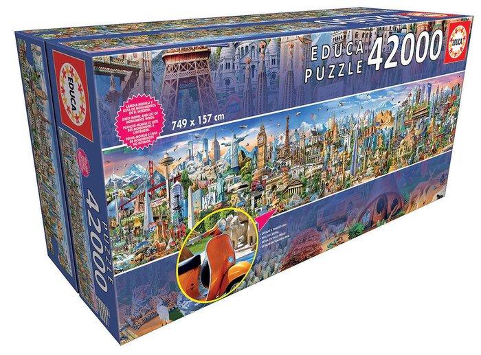 Puzzle educa 42000 piezas la vuelta al mundo