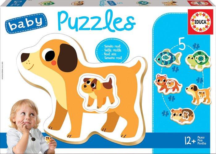 Puzzle educa infantil animales +12 meses