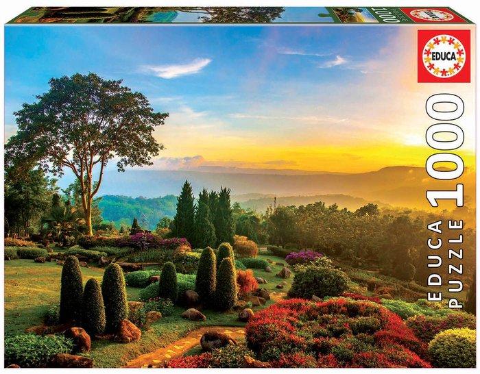Puzzle educa 1000 piezas jardin precioso