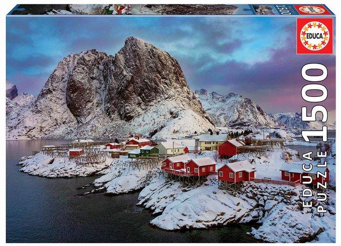 Puzzle educa 1500 piezas islas lofoten, noruega