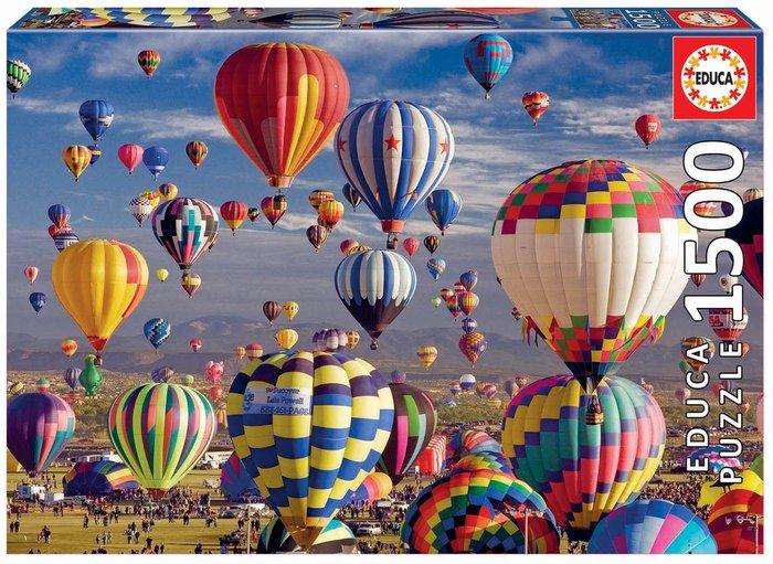 Puzzle educa 1500 piezas globos aerostaticos