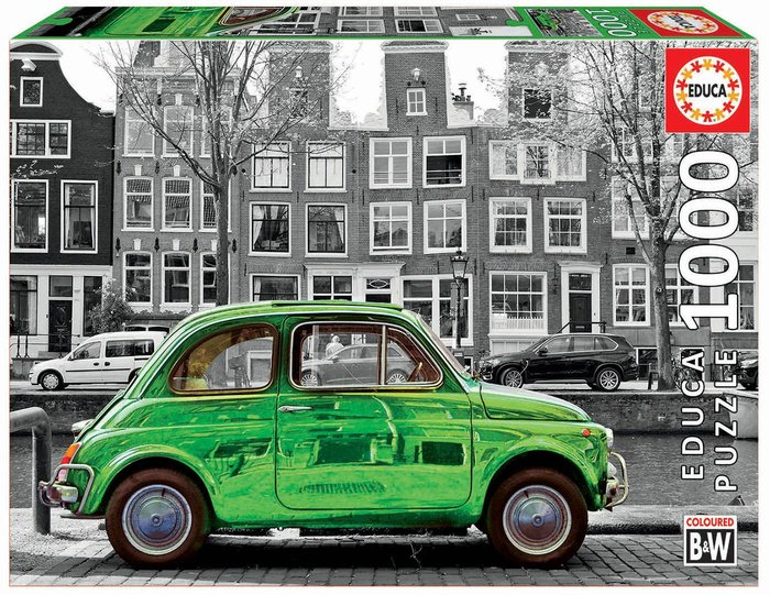 Puzzle educa 1000 piezas coche en amsterdam