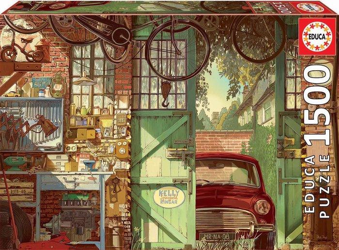 Puzzle educa 1500 piezas old garage, arly jones