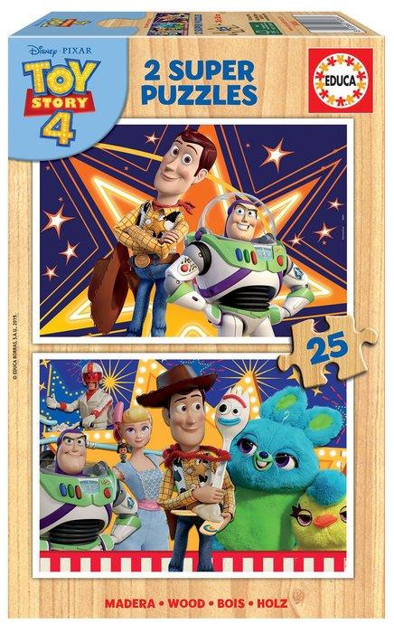 Puzzles 2x25 piezas toy story 4