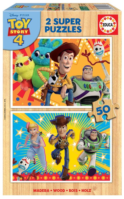Puzzles 2x50 toy story 4
