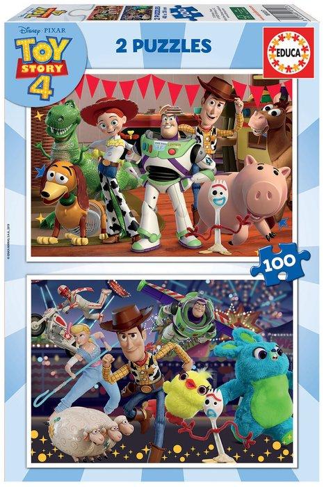 Puzzle 2x100 piezas toy story 4