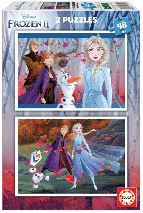 Puzzles 2x48 frozen 2