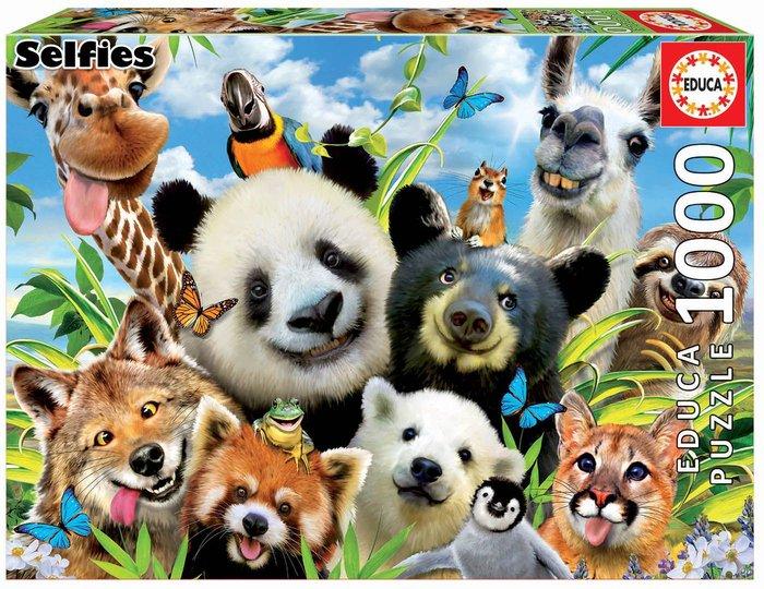 Puzzle educa 1000 piezas llama drama selfie