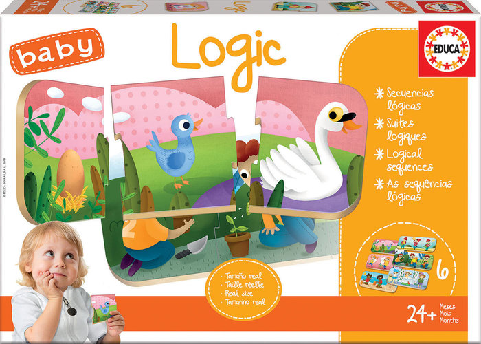 Puzzle baby logic 6 puzzles