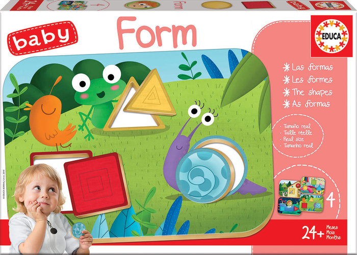 Puzzle baby form 4 puzzles