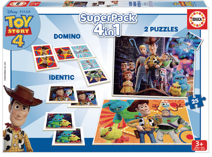 Juego educa superpack toy story