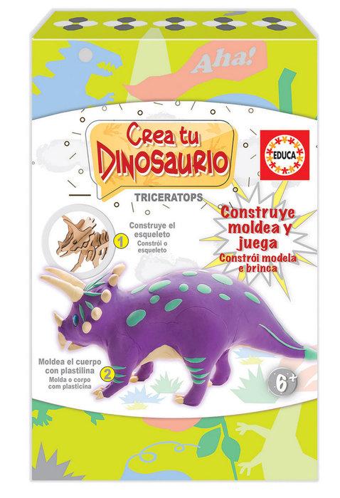 Juego crea y moldea tu triceratops