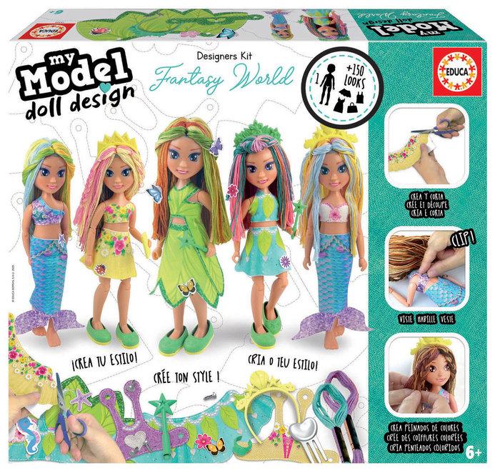 My model. doll design. fantasia