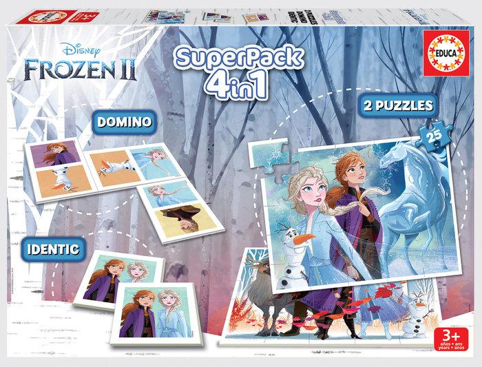 Juego educa superpack frozen