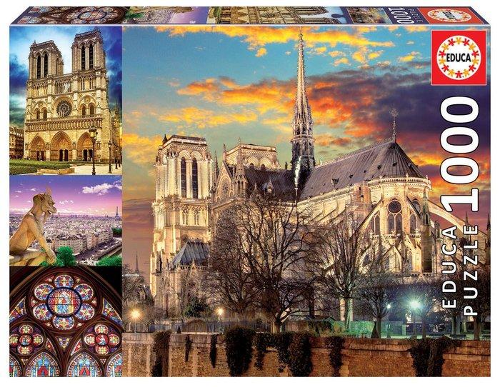 Puzzle educa 1000 piezas collage de notre dame