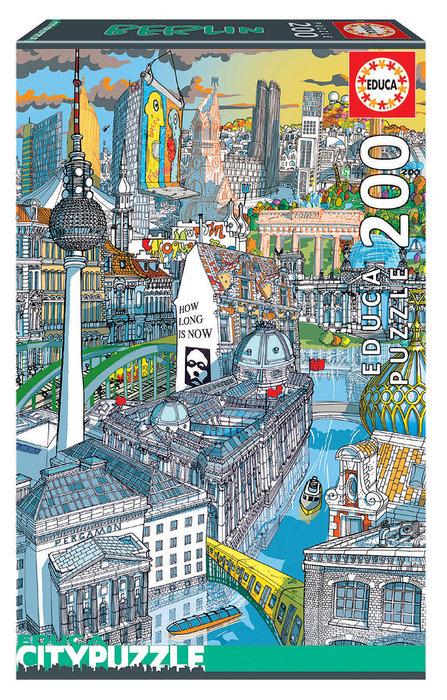 Puzzle educa 200 piezas berlin citypuzzle