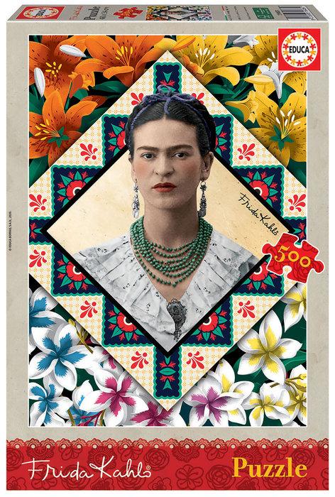 Puzzle educa 500 piezas frida kahlo