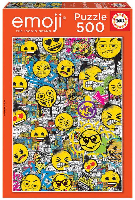 Puzzle educa 500 piezas emoji graffiti