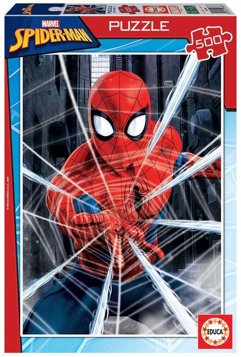 Puzzle educa 500 piezas spider-man