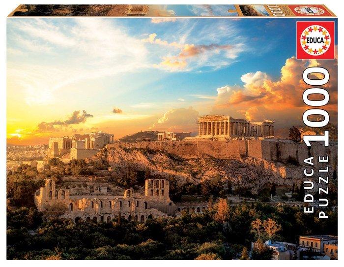 Puzzle educa 1000 piezas acropolis atenas